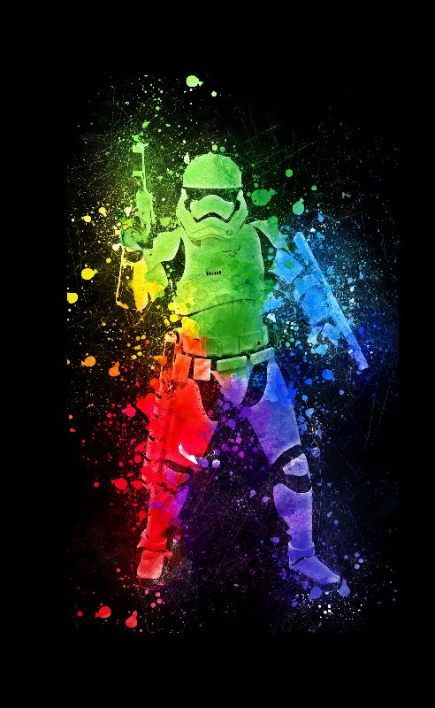 Stormtrooper Abstract Art