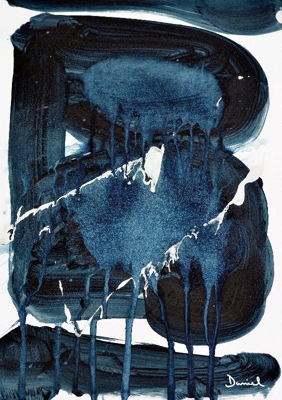 Abstract Art  Blue Night