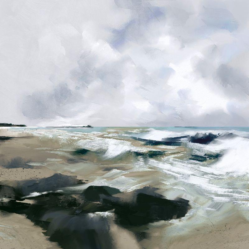 Seascape  Ocean Print