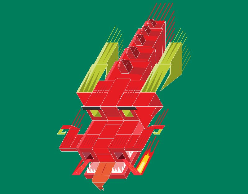 Cube Dragon