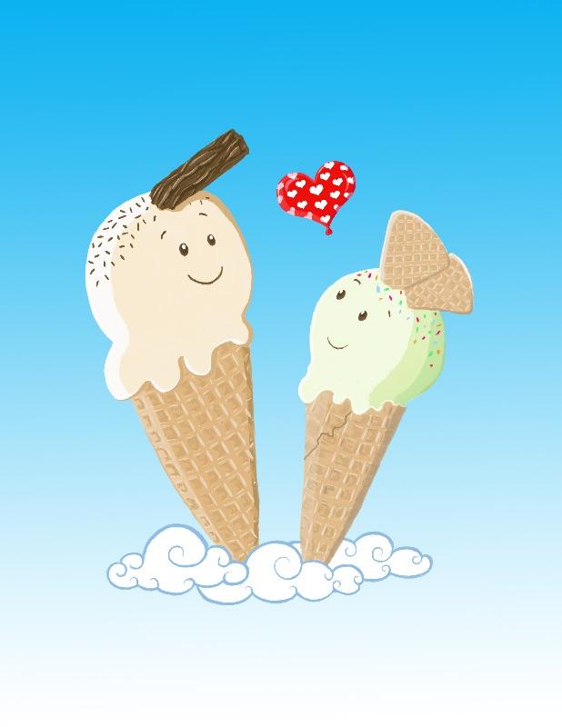 Ice Creams In Love