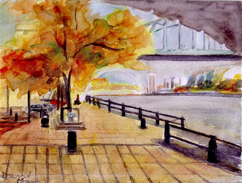 Autumn on The Quayside