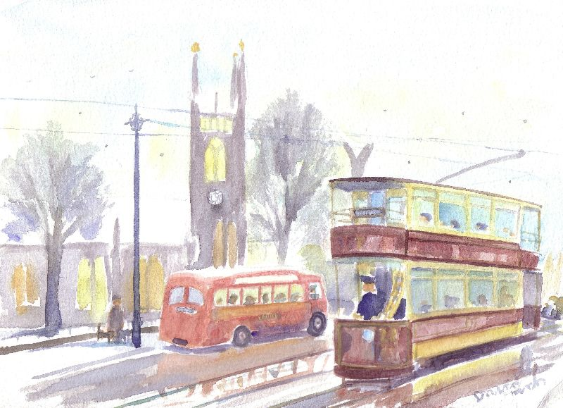Newcastle H class tram