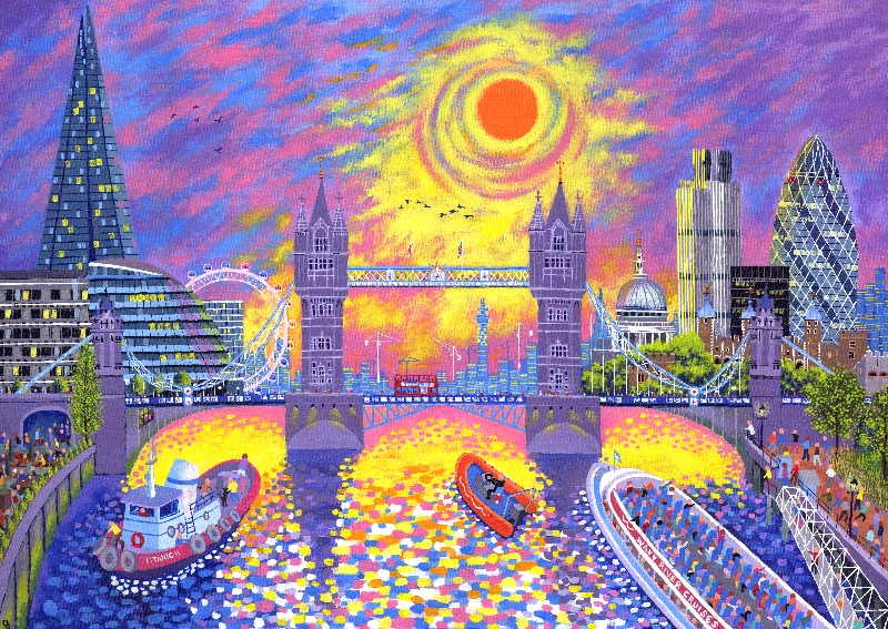 Sunset Pool of London