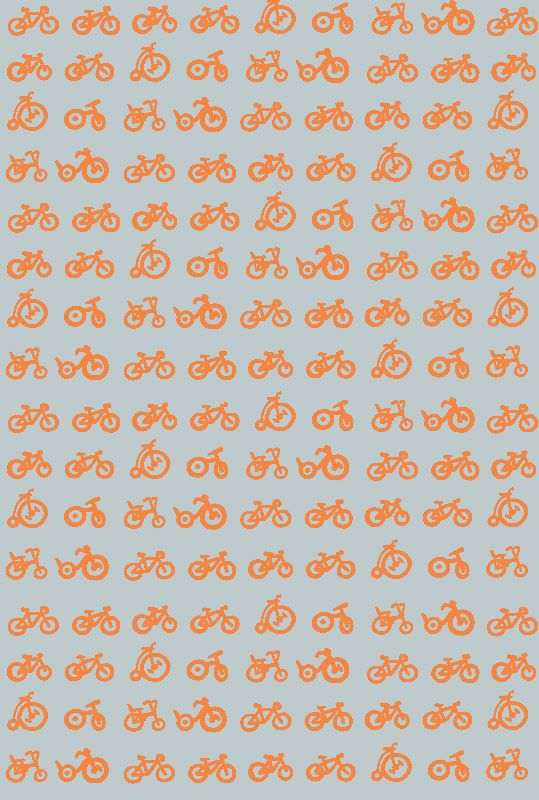 Multi bicycles on grey