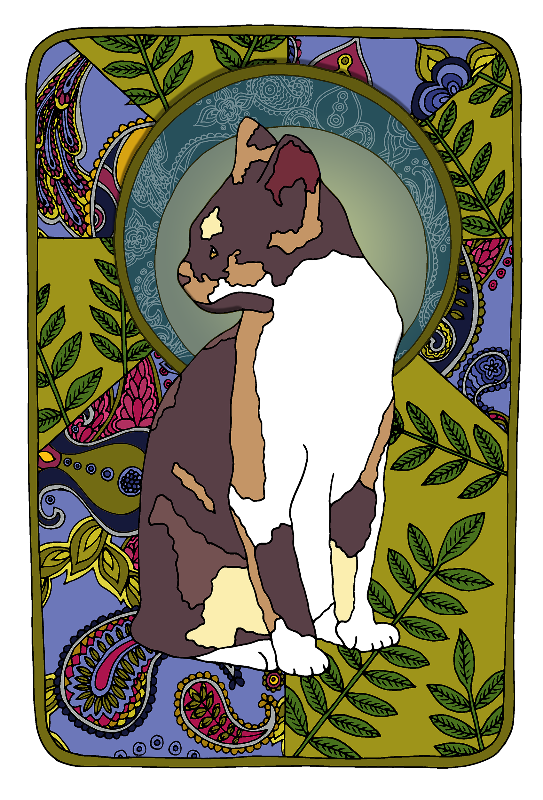 Ash  TriColour Cat