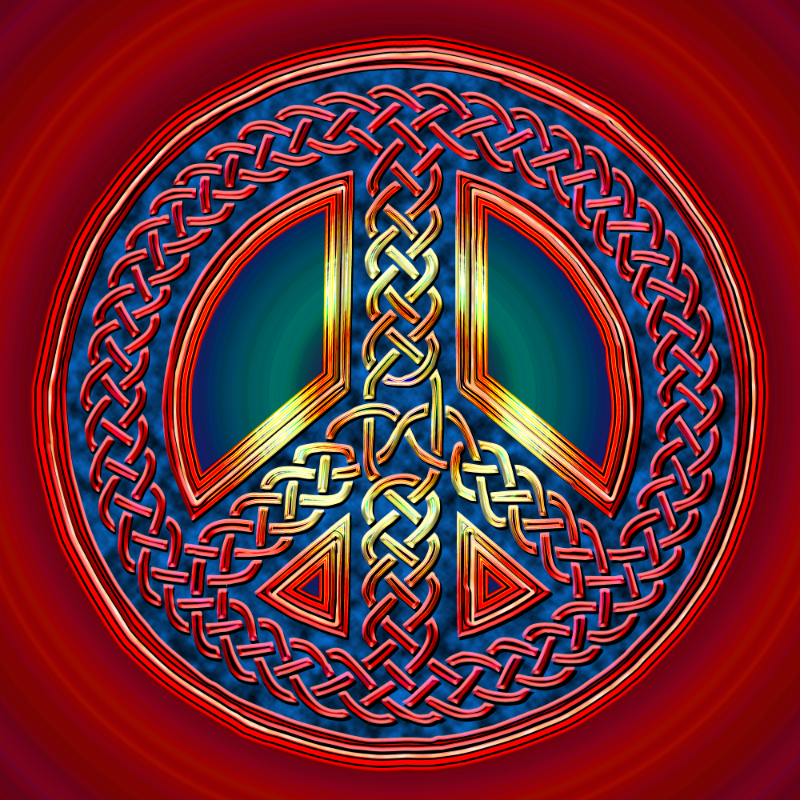 Celtic Knot of Peace