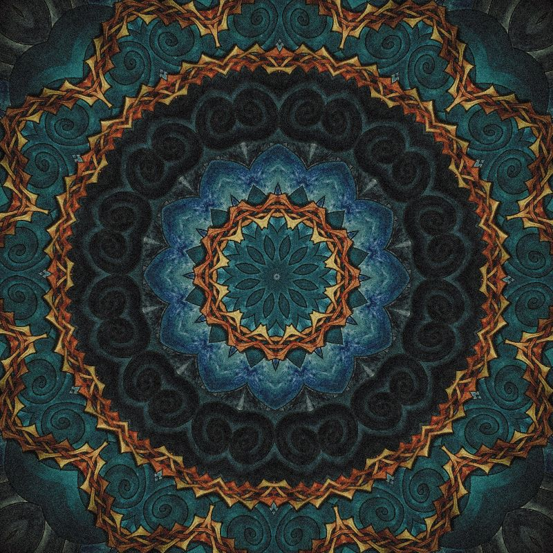 Celtic Night Mandala