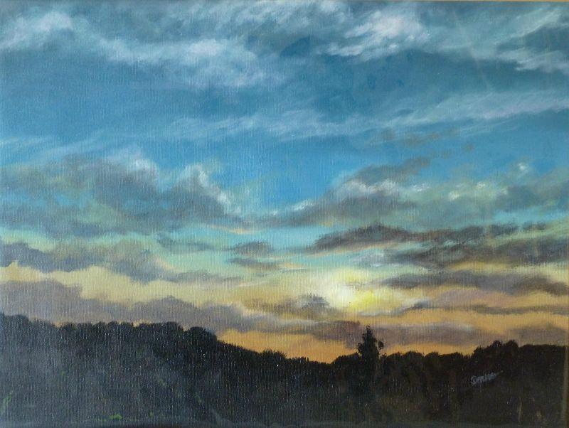 Bramfield sky