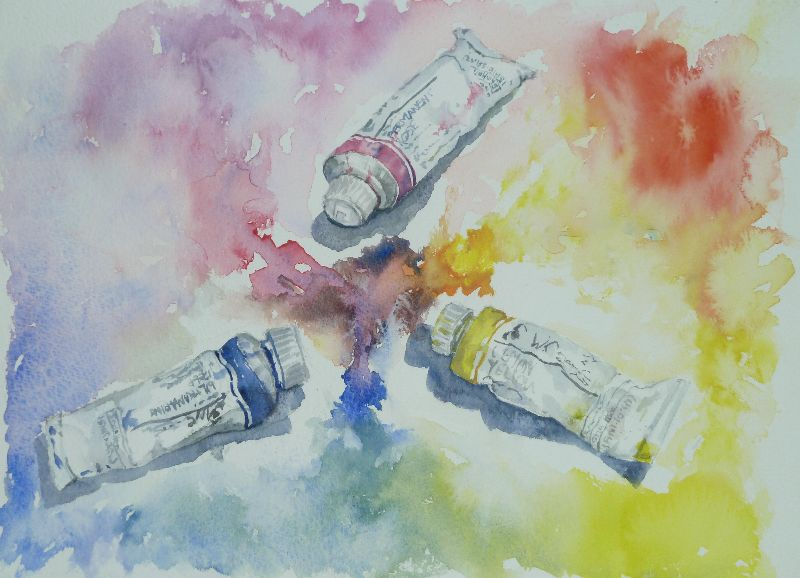 Watercolour paint