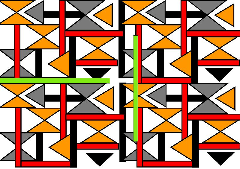 Bright Bold Geometric