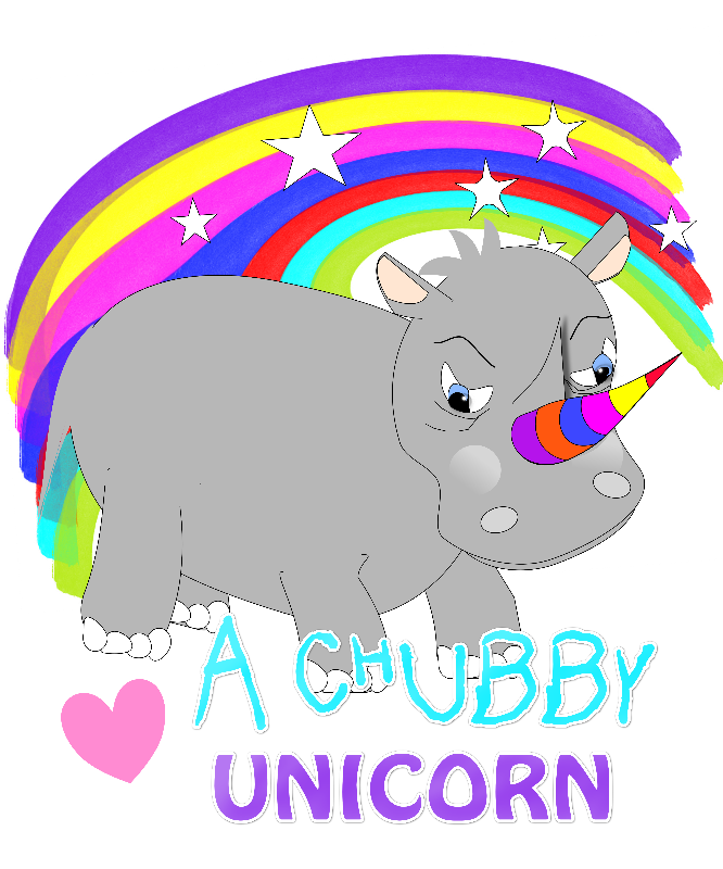 Cute Tubby Unicorn