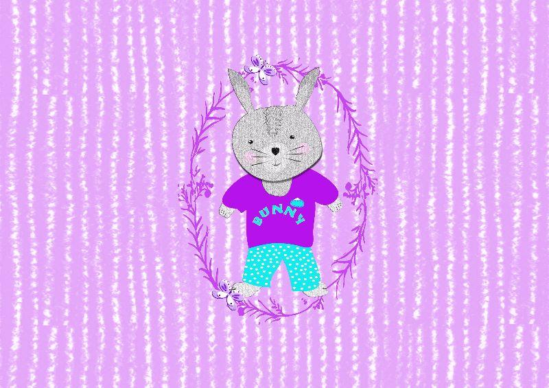 Cute Whimsy Bunny Rabbit