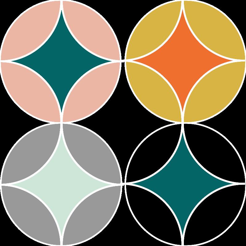 Geometric Bold Pattern