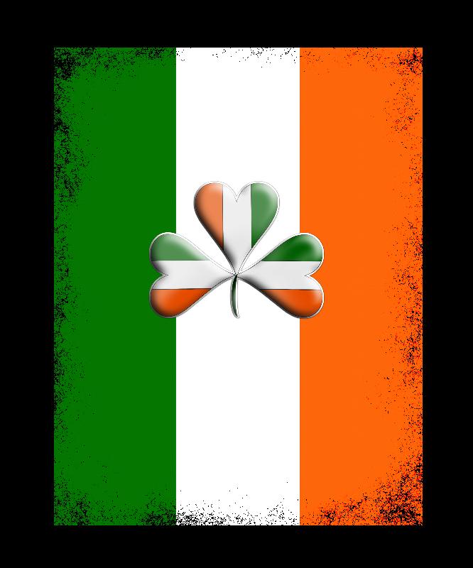 Love Ireland Shamrock