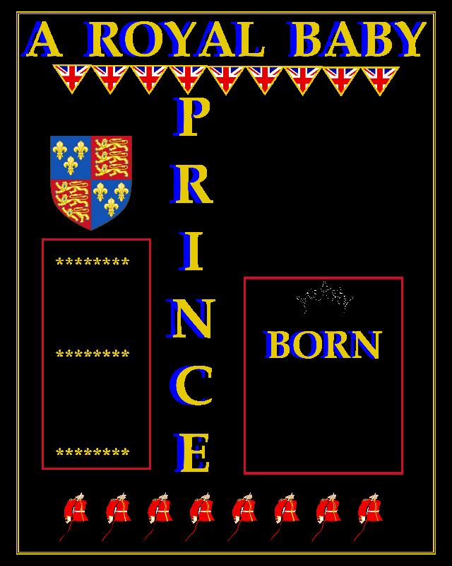 Prince Louis Royal Baby