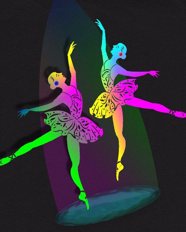 Rainbow Ballerina Dance