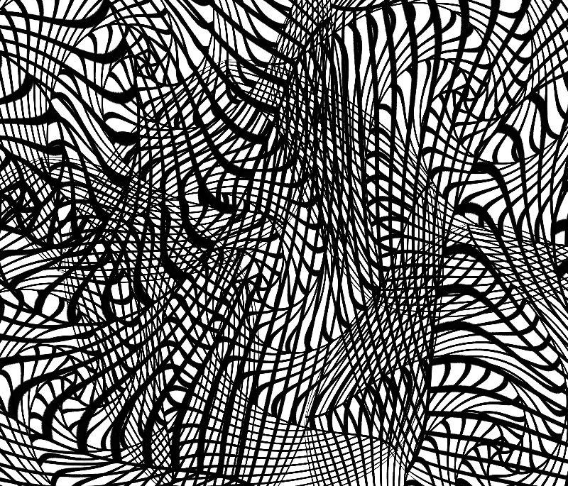Zen Tangle Style Doodle
