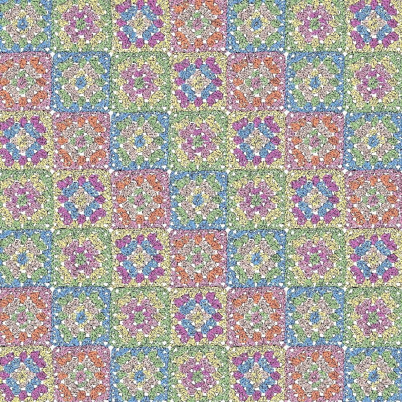 Spring Granny Squares