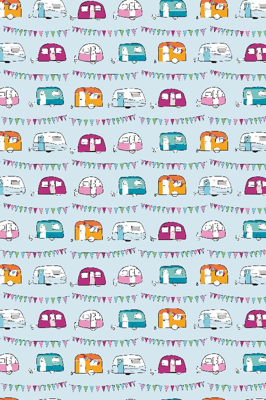 caravans  bunting