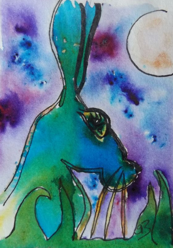 Magical Moonlight Hare