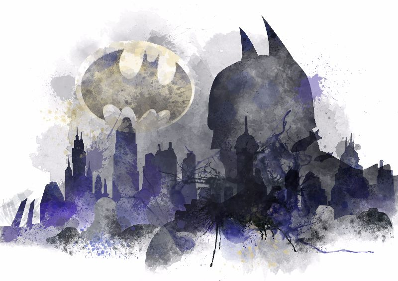 Batman Gotham Skyline