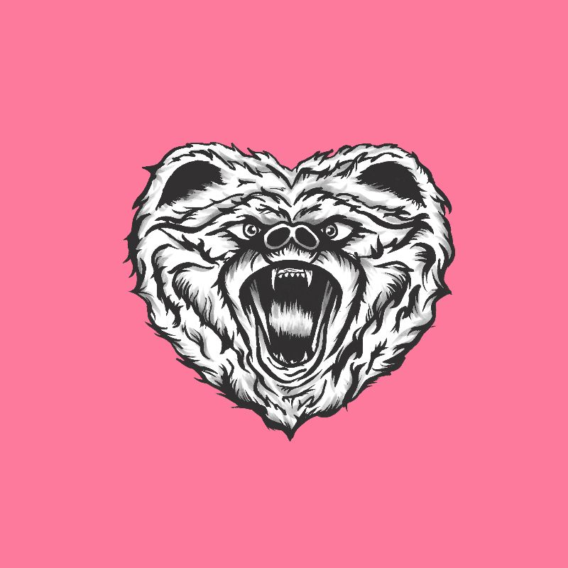 Pink Bear Love