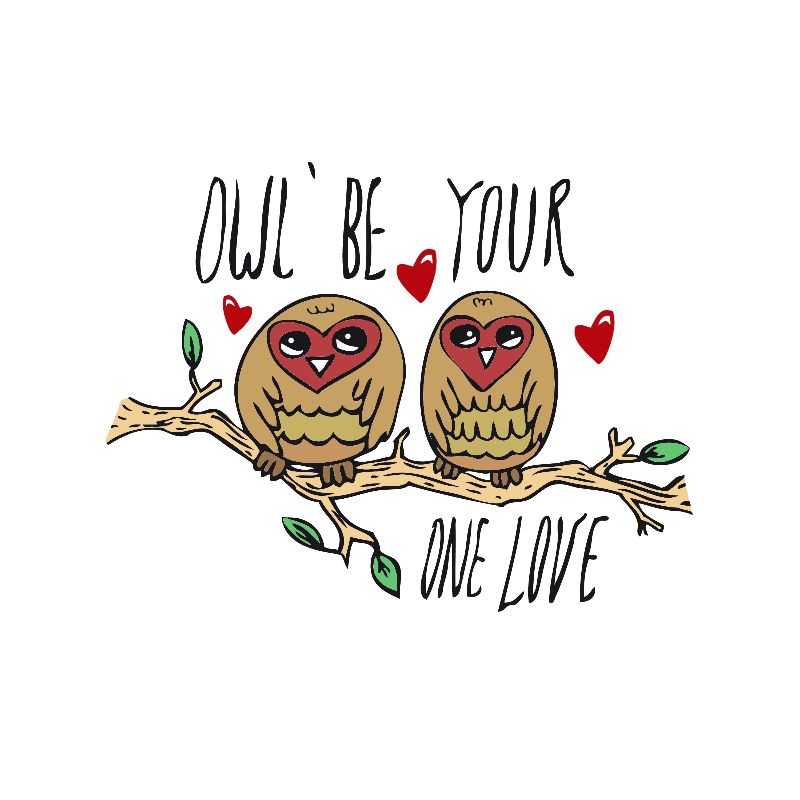 Rosey Red Owls
