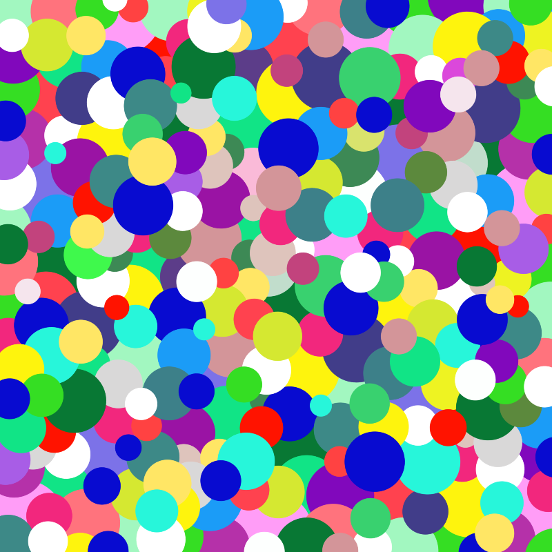 Rainbow of Circles