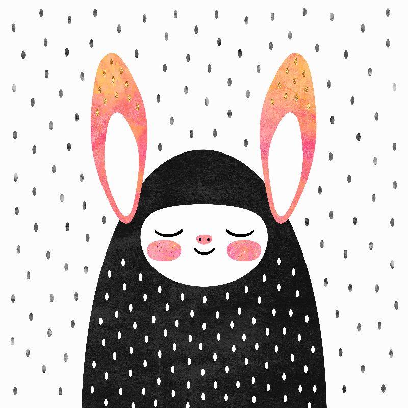 A strange little bunny