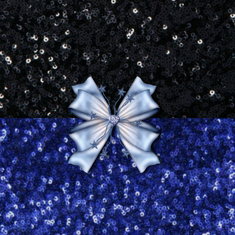 Brilliant Black and Blue