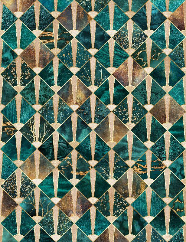 Art Deco Tiles  Ocean