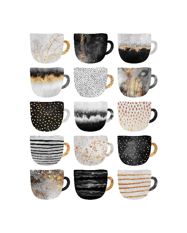 Pretty Coffee Cups 31