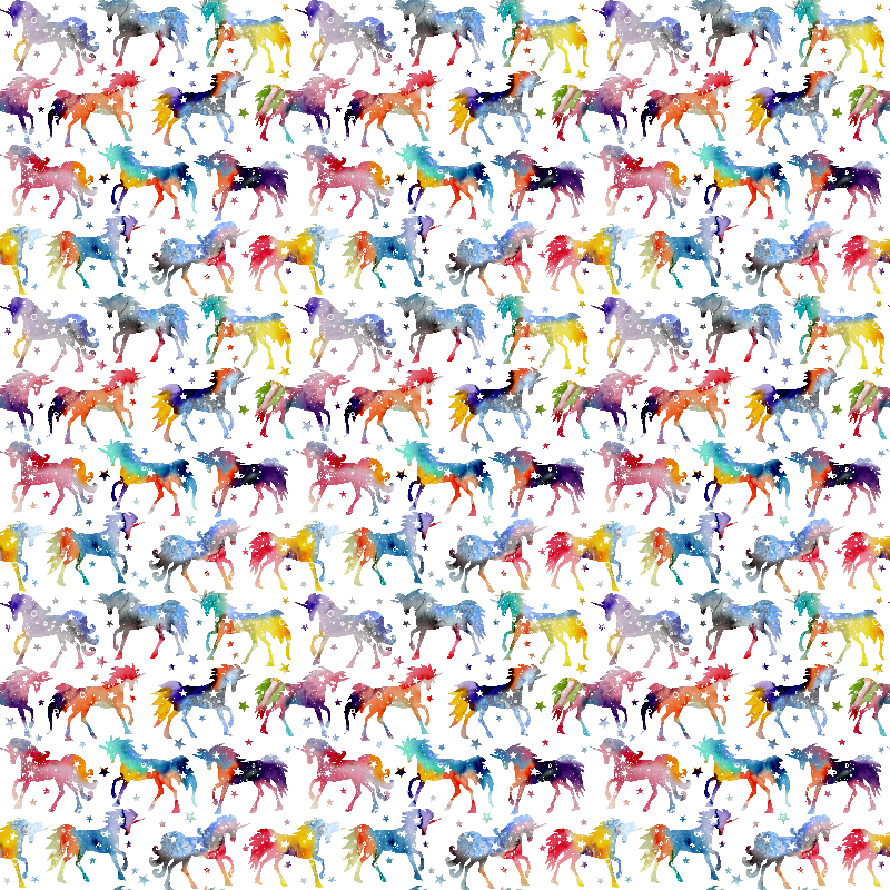 Rainbow Galaxy Unicorns