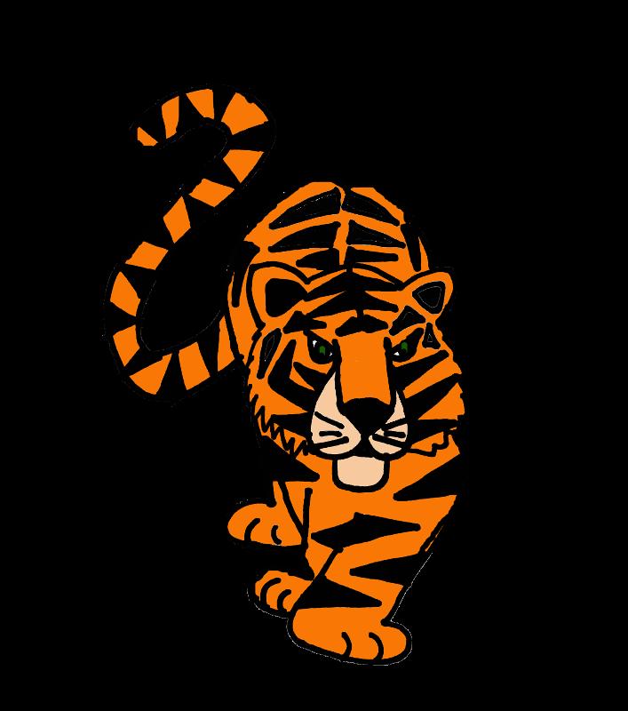 Artistic Tiger