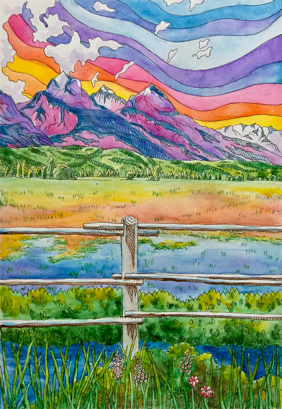 Waves of Colour