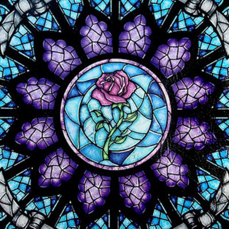 Rosette Stained Glass