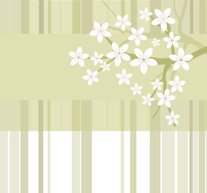 Sakura Floral Pattern