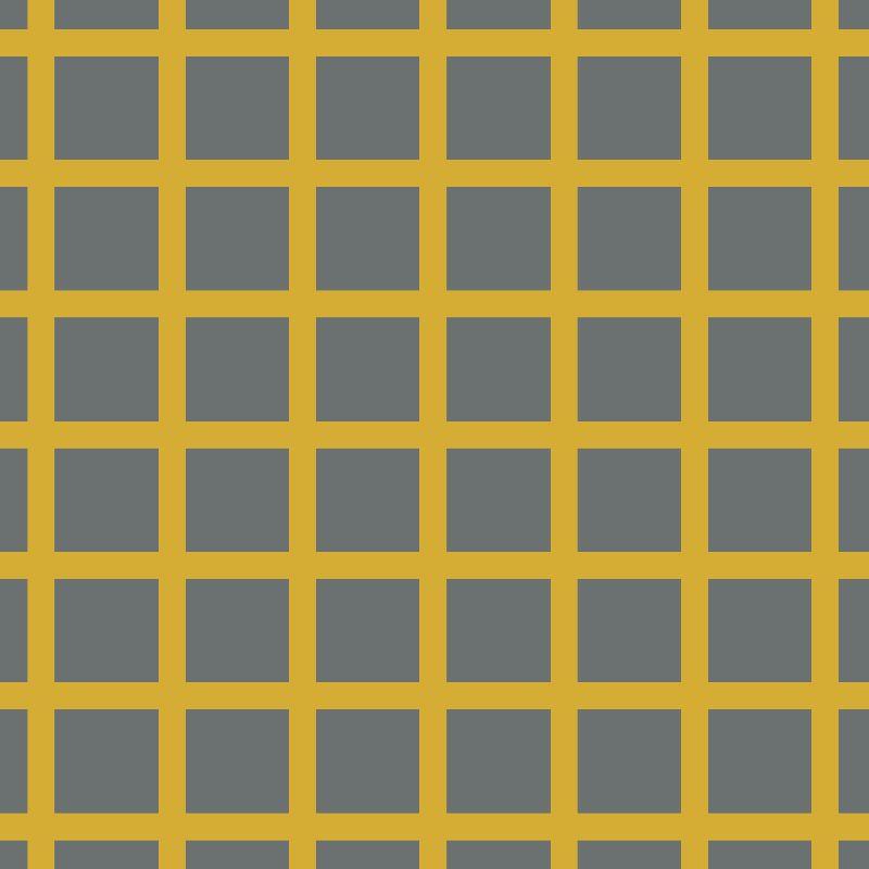 Grey  Mustard Geometric