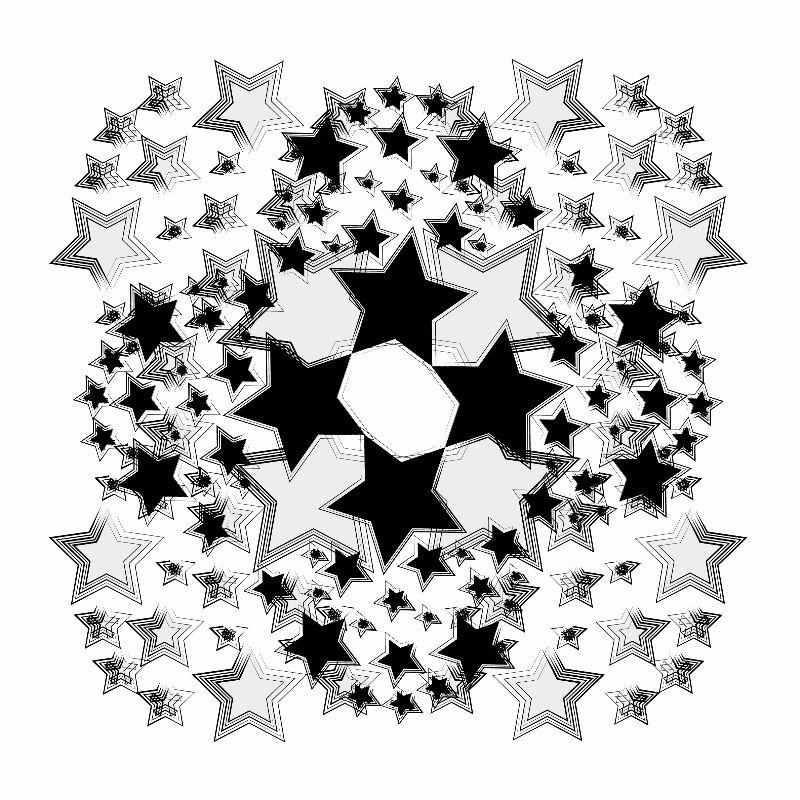 Monochrome Stars