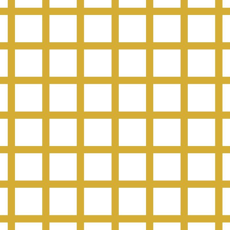 Mustard  White Geometric