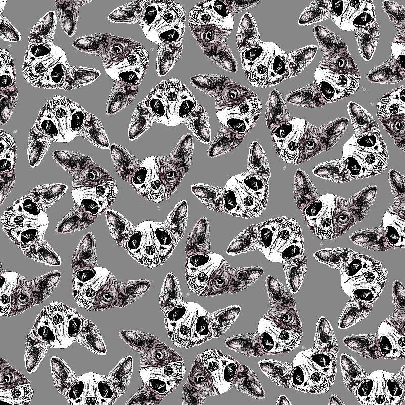 Sphinx Skull Pattern