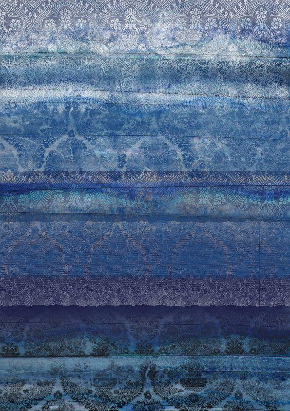 Textural Blue