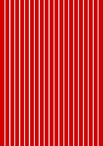 Pin Stripes Red