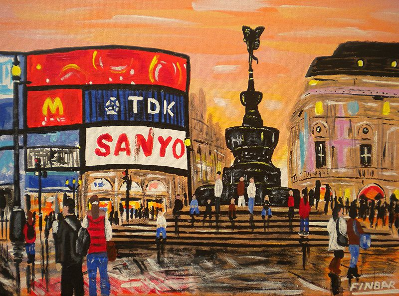 Evening in Piccadilly