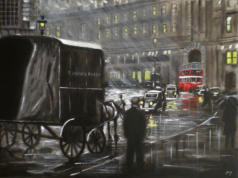 Evening in Regent Street