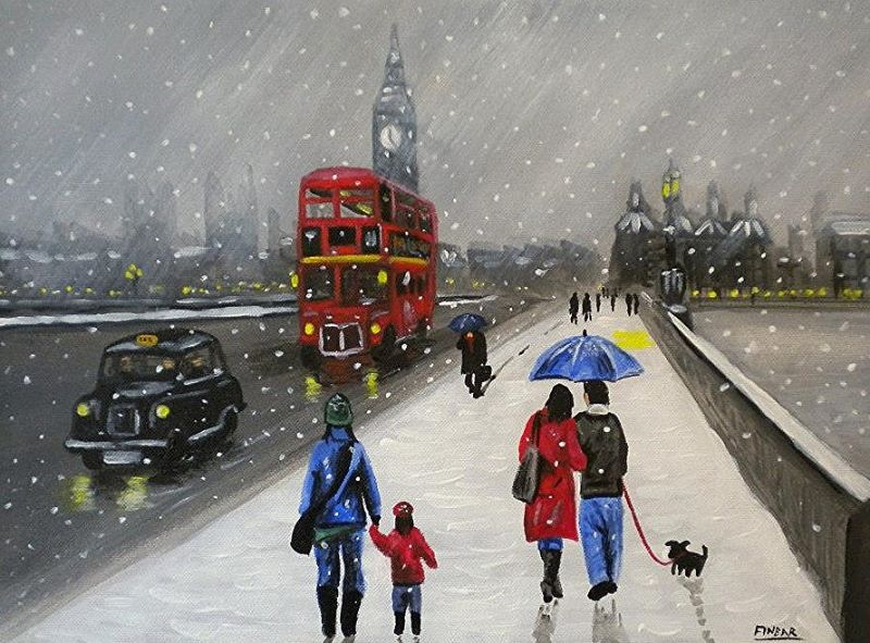 Snow in Westminster