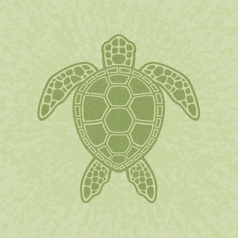 Green Sea Turtle Design