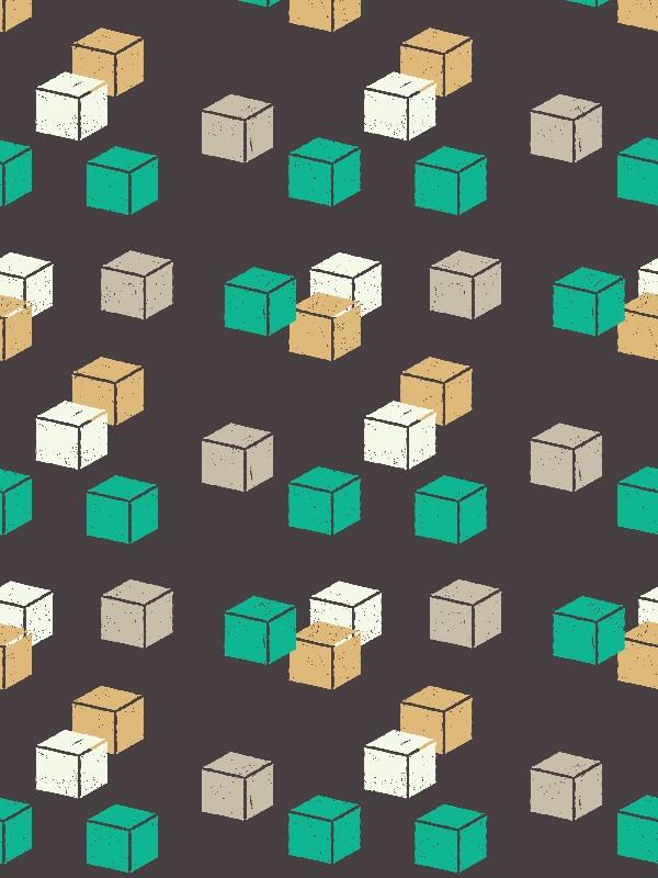 Cubes Green