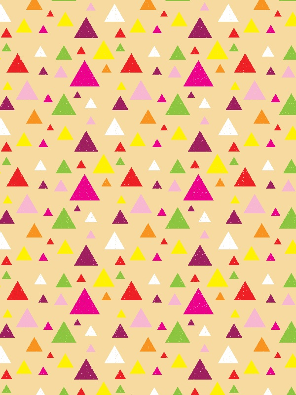 Triangles Yellow
